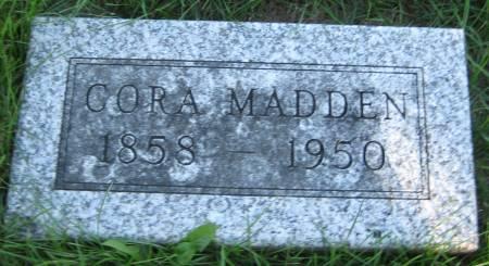 MADDEN, CORA - Pottawattamie County, Iowa | CORA MADDEN