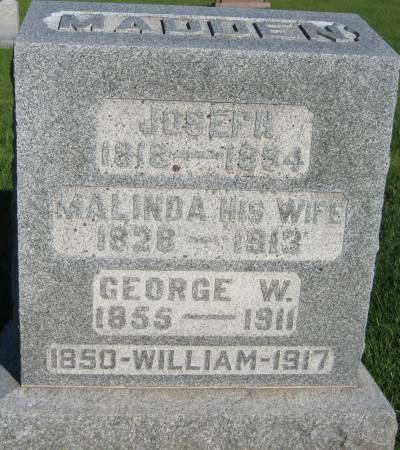 MADDEN, WILLIAM - Pottawattamie County, Iowa | WILLIAM MADDEN