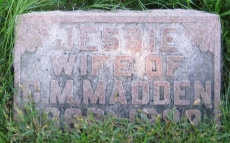 MADDEN, JESSIE - Pottawattamie County, Iowa   JESSIE MADDEN