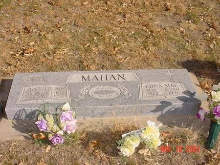 MAHAN, ROZZLE, SR. & EDNA MAE - Pottawattamie County, Iowa | ROZZLE, SR. & EDNA MAE MAHAN