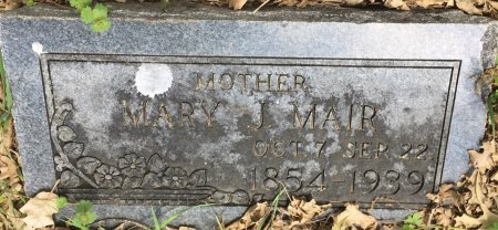 MAIR, MARY JANE - Pottawattamie County, Iowa | MARY JANE MAIR