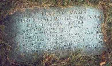 MAKIN, ALICE LOVEJOY - Pottawattamie County, Iowa | ALICE LOVEJOY MAKIN