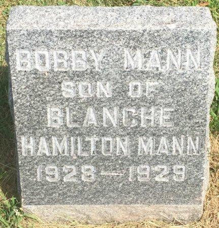 MANN, BOBBIE - Pottawattamie County, Iowa | BOBBIE MANN