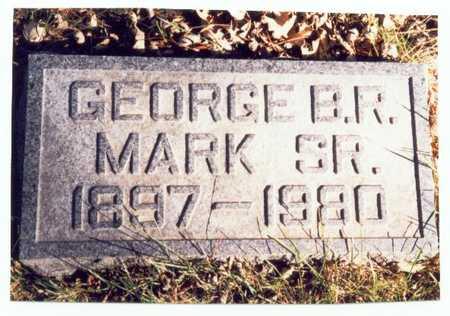 MARK, GEORGE B.R. SR. - Pottawattamie County, Iowa | GEORGE B.R. SR. MARK