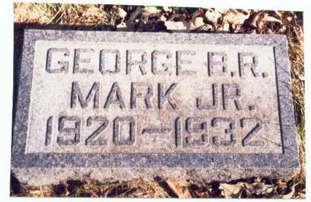 MARK, GEORGE B.R. JR. - Pottawattamie County, Iowa | GEORGE B.R. JR. MARK