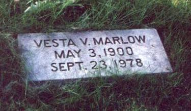 MARLOW, VESTA VIOLA KILGORE CORBETT - Pottawattamie County, Iowa | VESTA VIOLA KILGORE CORBETT MARLOW