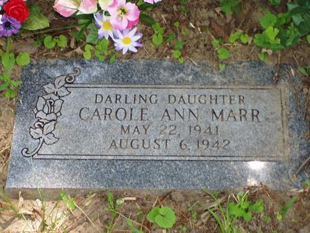 MARR, CAROLE ANN - Pottawattamie County, Iowa | CAROLE ANN MARR
