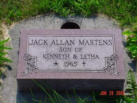 MARTENS, JACK ALLEN - Pottawattamie County, Iowa | JACK ALLEN MARTENS
