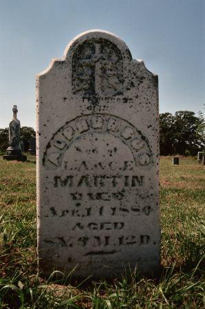 MARTIN, ALPHONSUS - Pottawattamie County, Iowa | ALPHONSUS MARTIN
