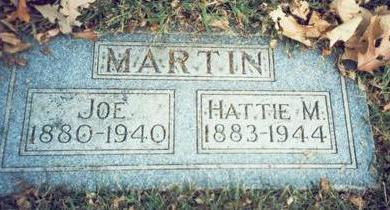 MARTIN, JOE - Pottawattamie County, Iowa | JOE MARTIN