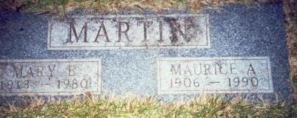 MARTIN, MAURICE A. - Pottawattamie County, Iowa | MAURICE A. MARTIN