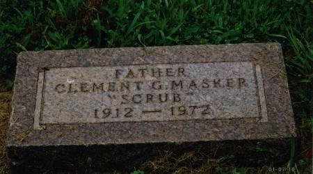 MASKER, CLEMENT GERARD - Pottawattamie County, Iowa | CLEMENT GERARD MASKER