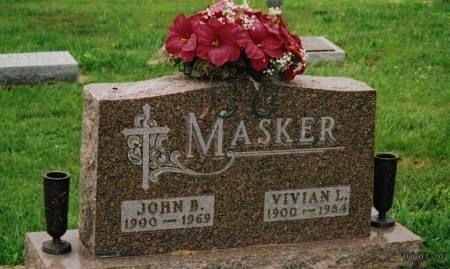 MASKER, JOHN BERNARD - Pottawattamie County, Iowa | JOHN BERNARD MASKER