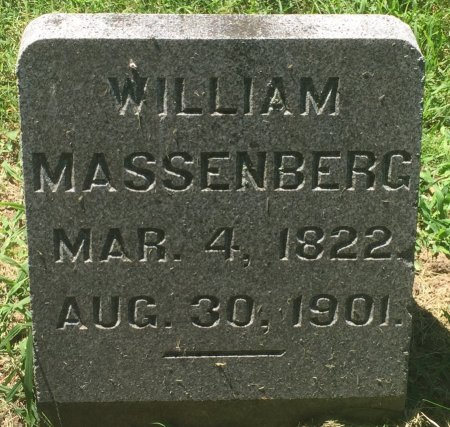 MASSENBERG, WILLIAM - Pottawattamie County, Iowa | WILLIAM MASSENBERG