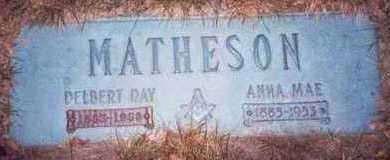 MATHESON, DELBERT DAY - Pottawattamie County, Iowa | DELBERT DAY MATHESON