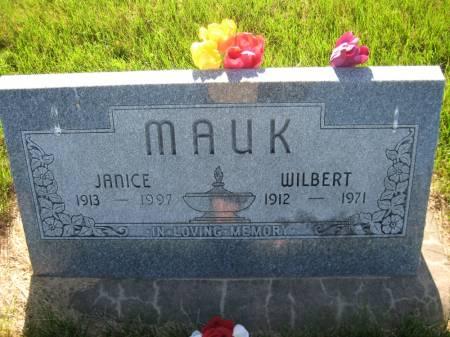 MAUK, WILBERT W. - Pottawattamie County, Iowa | WILBERT W. MAUK