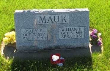 MAUK, WILLIAM HENRY - Pottawattamie County, Iowa | WILLIAM HENRY MAUK