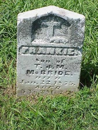 MCBRIDE, FRANKIE 2 - Pottawattamie County, Iowa | FRANKIE 2 MCBRIDE