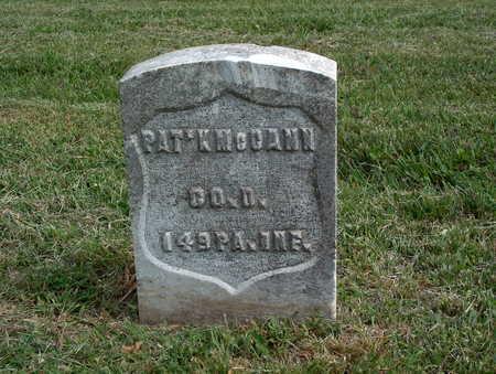 MCCANN, PAT'K - Pottawattamie County, Iowa | PAT'K MCCANN
