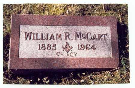 MCCART, WILLIAM ROY - Pottawattamie County, Iowa | WILLIAM ROY MCCART