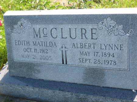 MCCLURE, EDITH MATILDA - Pottawattamie County, Iowa | EDITH MATILDA MCCLURE