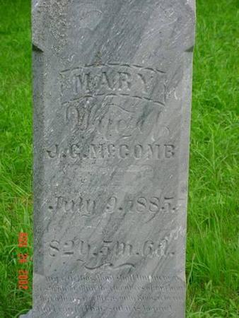 MCCOMB, MARY - Pottawattamie County, Iowa | MARY MCCOMB