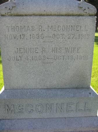 MCCONNELL, JENNIE R. - Pottawattamie County, Iowa | JENNIE R. MCCONNELL