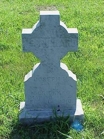 MCCRICKARD, JOSEPH M. - Pottawattamie County, Iowa | JOSEPH M. MCCRICKARD
