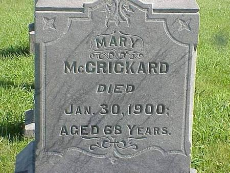 MCCRICKARD, MARY - Pottawattamie County, Iowa | MARY MCCRICKARD