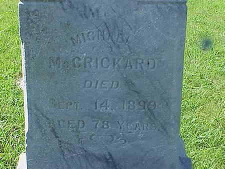 MCCRICKARD, MICHAEL - Pottawattamie County, Iowa | MICHAEL MCCRICKARD