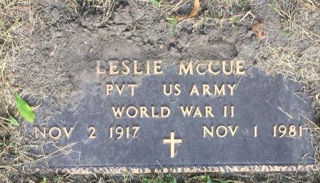MCCUE, LESLIE - Pottawattamie County, Iowa | LESLIE MCCUE