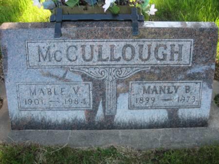 MCCULLOUGH, MABLE V. - Pottawattamie County, Iowa   MABLE V. MCCULLOUGH