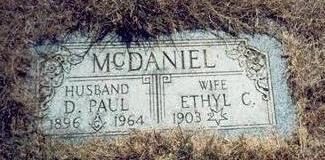 MCDANIEL, D. PAUL - Pottawattamie County, Iowa | D. PAUL MCDANIEL
