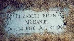 MCDANIEL, ELIZABETH ELLEN - Pottawattamie County, Iowa | ELIZABETH ELLEN MCDANIEL