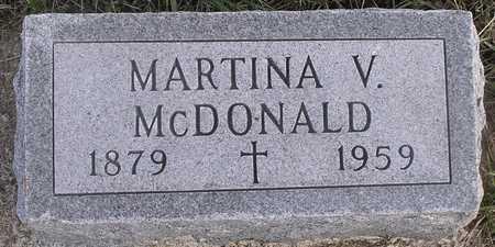 MCDONALD, MARTINA W - Pottawattamie County, Iowa | MARTINA W MCDONALD