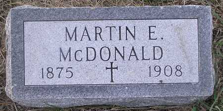 MCDONALD, MARTIN - Pottawattamie County, Iowa | MARTIN MCDONALD