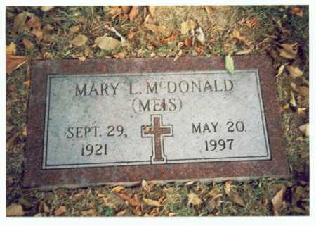 MCDONALD, MARY L. - Pottawattamie County, Iowa | MARY L. MCDONALD