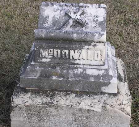 MCDONALD, NO NAME - Pottawattamie County, Iowa   NO NAME MCDONALD