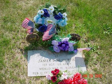 MCDUFFIE, JAMES J. - Pottawattamie County, Iowa   JAMES J. MCDUFFIE