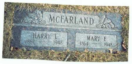 MCFARLAND, MARY ELIZABETH - Pottawattamie County, Iowa   MARY ELIZABETH MCFARLAND