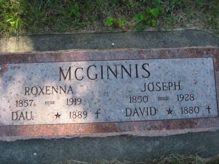 MCGINNIS, JOSEPH - Pottawattamie County, Iowa | JOSEPH MCGINNIS