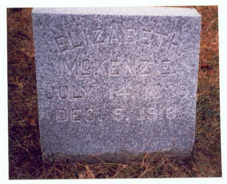 MCKENZIE, ELIZABETH - Pottawattamie County, Iowa | ELIZABETH MCKENZIE