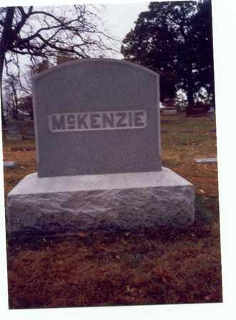 MCKENZIE, FAMILY MARKER - Pottawattamie County, Iowa | FAMILY MARKER MCKENZIE