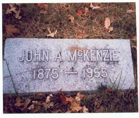 MCKENZIE, JOHN A. - Pottawattamie County, Iowa | JOHN A. MCKENZIE