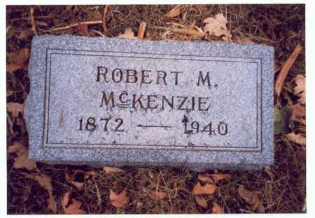 MCKENZIE, ROBERT M. - Pottawattamie County, Iowa   ROBERT M. MCKENZIE