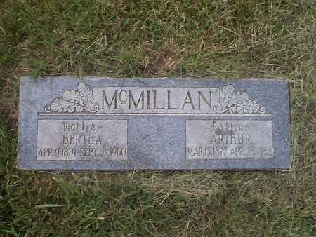 MCMILLAN, BERTHA - Pottawattamie County, Iowa | BERTHA MCMILLAN
