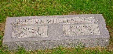 MCMULLEN, MARY E - Pottawattamie County, Iowa   MARY E MCMULLEN