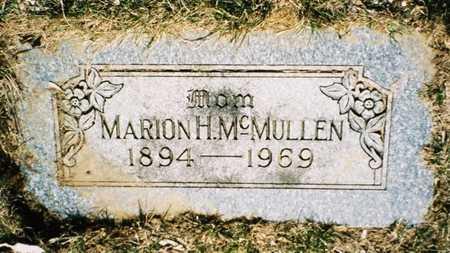 MCMULLEN, MARION HAZEL - Pottawattamie County, Iowa | MARION HAZEL MCMULLEN