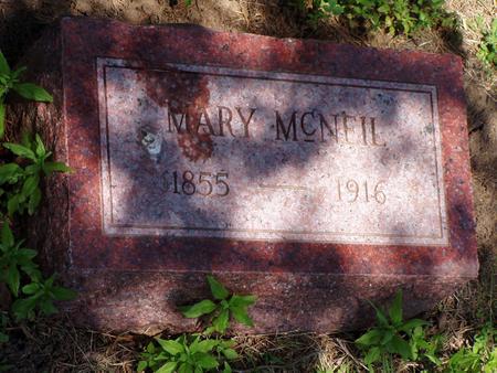 MCNEIL, MARY ELLEN - Pottawattamie County, Iowa | MARY ELLEN MCNEIL