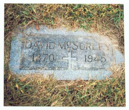 MCSORLEY, DAVID - Pottawattamie County, Iowa | DAVID MCSORLEY